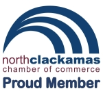 Proud Member of North Clackamas Chamber of Commerce